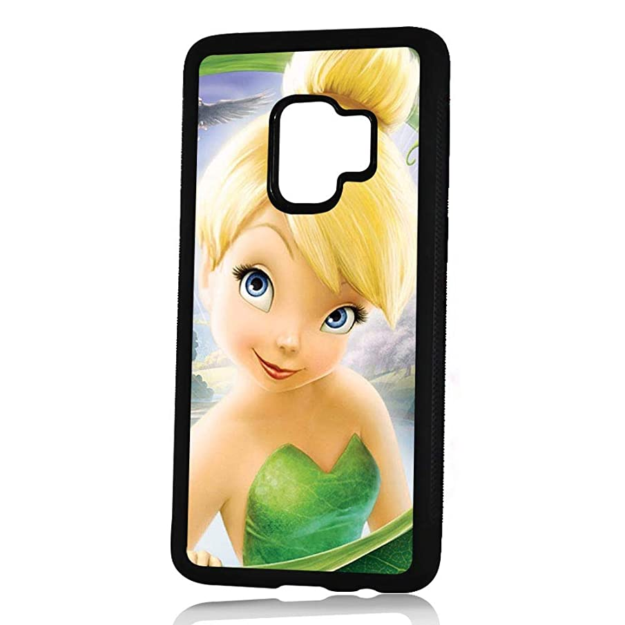 (for Samsung Galaxy S9+ / S9 Plus) Durable Protective Soft Back Case Phone Cover - HOT11641 Tinkerbell
