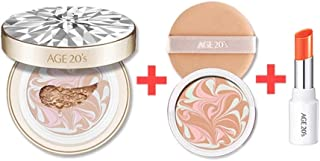 New in 2018 Season10 - Age 20's Essence Cover Pact RX 12.5g (0.44oz) include Refill - Korean Beauty (#23. Medium Beige)