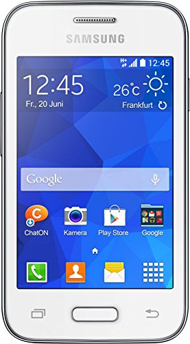 Samsung Galaxy YOUNG 2 Smartphone (8,89 cm (3,5 Zoll) Touchscreen, 3,2 Megapixel-Kamera, 1-GHz-Single-Core-Prozessor, Android 4.4) weiß