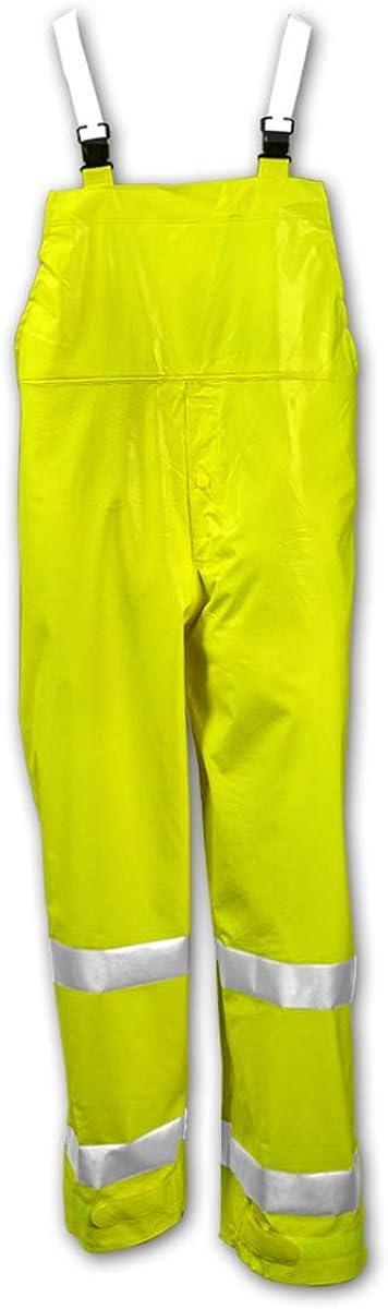 Excellent Tingley Rubber Sm Special price Lim Yel O53122.Sm Rainsu Rainwear Pvc Overalls