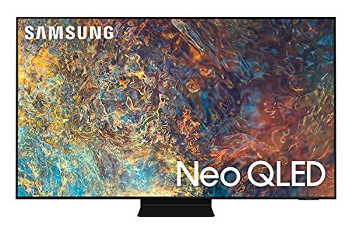 Samsung QE55QN90AATXZT Smart TV 55  Neo QLED 4K, Ultra HD, Quantum Matrix, Processore Neo Quantum 4K con IA, Quantum HDR, OTS+, Multiview, Wi-Fi, NeoSlim, Titan Black, 2021, Alexa, Google Assistant