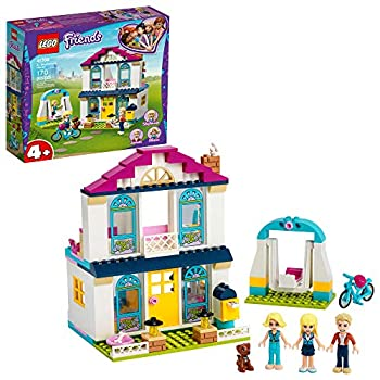 LEGO Friends 4+ Stephanie's House 41398 Mini-Doll's House Lets Kids Role-Play Family Life Friends Stephanie Alicia and James New 2020  170 Pieces