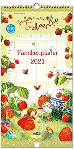 Erdbeerinchen Erdbeerfee. Familienplaner 2021