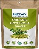 Nova Nutritions Certified Organic Gotu Kola Powder 16 OZ (454 gm) -...