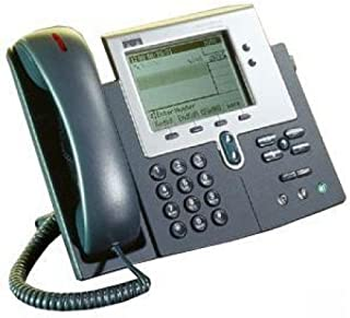 Cisco 7940 Series Unified IP VoIP Phone - CP-7940G (Call Manager Required) (Renewed)