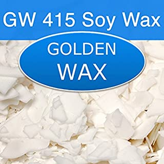 Golden Brands Natural Soy 125 (415) Wax - 50 Pound Bag