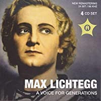 Max Lichtegg: Voice for Generations by LICHTEGG MAX