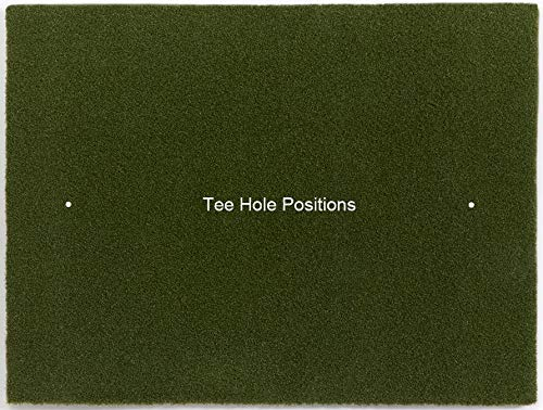 Dura-Pro Commercial Golf Mat Premium Turf. Includes Golf Tray and 3 Rubber Tees. Practice Hitting and Chipping for Driving Range or Home Use, Backyard, As Seen On The Golf Channel TV (4x5 Feet)