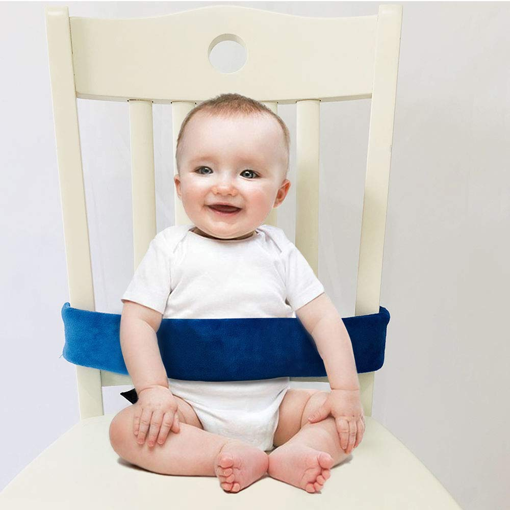 High Chair Straps, Universal Baby Safety Strap, Highchair Harness for Infant&Toddler's(Blue)