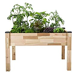CedarCraft Self-Watering Elevated Cedar Planter