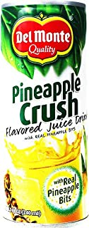 Delmonte Pineapple Crush Juice Drink, 8.1 Fluid Ounce (Pack of 24)