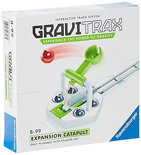 Ravensburger 27603 Gravitrax Catapulta, Accesorio, 8+ Años, Juego Lógico-Creativo, Juego STEM