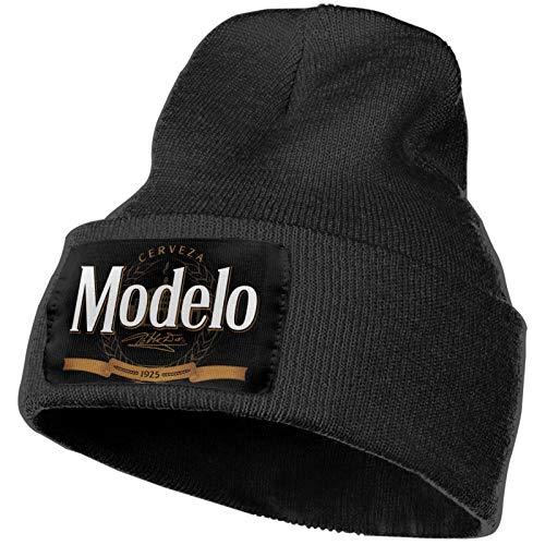 Lingassassin Modelo Beer Logo Unisex Golf Fashion Cap Skull Caps Knitting Hat Beanie Cap Warm Winter Soft