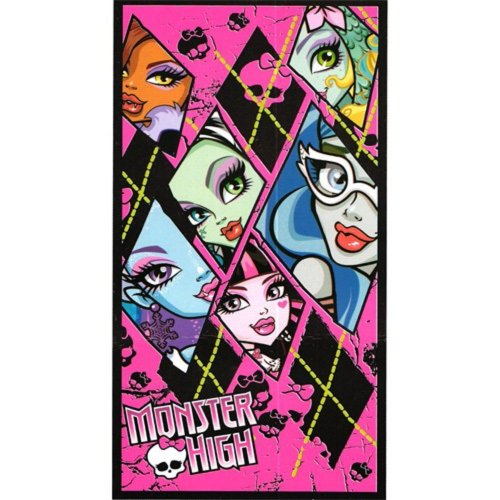 TOALLA PLAYA/PISCINA MONSTER HIGH