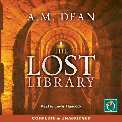 The Lost Library audiobook cover art