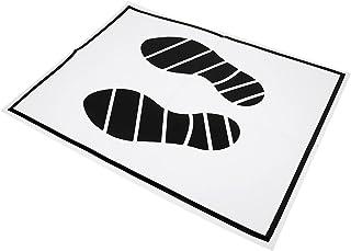 BESPORTBLE 50Pcs Papel Auto Floor Mats Tapetes Descartáveis Almofadas Do Pé Interior Automotivo Tampa de Proteção Folha Pr...