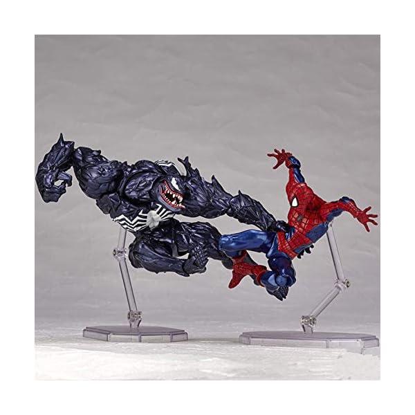 Venom Eddie Brock Venom Figura de acción Modelo de Juguete para niños Juegos Decoración Juguetes para niños para niños… 4
