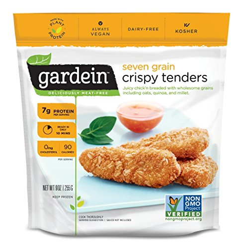 Gardein Seven Grain Crispy Plant-Based Chick'n Tenders, Vegan, Frozen, 9 oz.