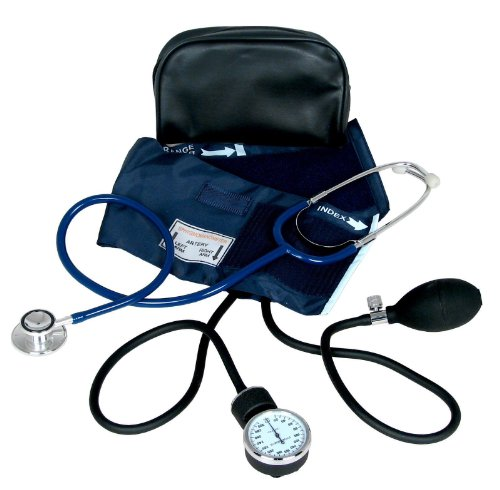 Blood Pressure Kit with Dual Head Stethoscope by Dixie EMS