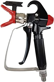 AEROPRO USA A818C Pressure Feed Airless Spray Gun compatible with Graco, Titan, Ryobi,