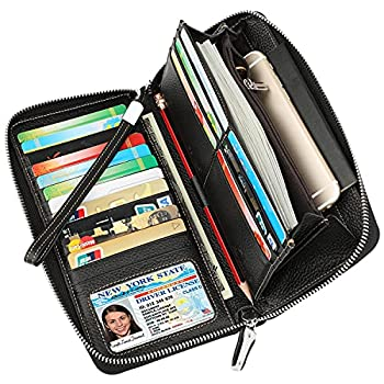 womens rfid wallets leather