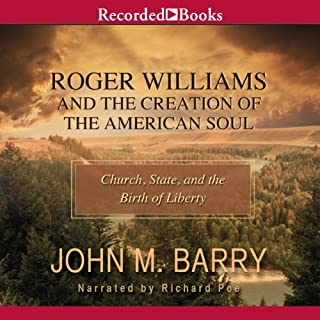 Roger Williams and the Creation of the American Soul audiobook cover art