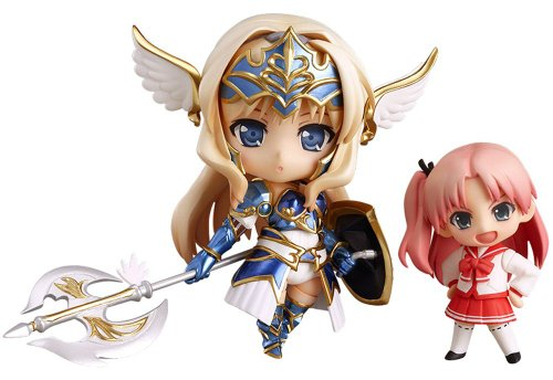AQUAPAZZA: Kusugawa Sasara Valkyrie Version Nendoroid & Ma-ryan Nendoroid Petit Action Figurine Set (2 pieces)