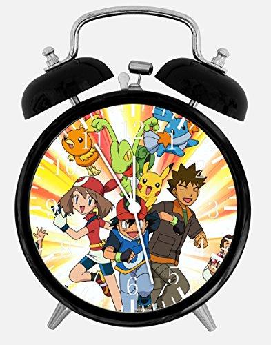 Pokemon Pikachu Wecker Schreibtisch Uhr 9,5 cm Raumdekoration E07 wird ein schönes Geschenk sein