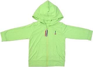 Anna Nicola 防紫外线 薄面料柔软连帽卫衣 AN11-106B E64 日本制造 绿色 100