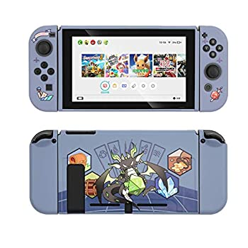 GeekShare Protective Case for Switch Soft TPU Slim Case Cover Compatible with Nintendo Switch Console and Joy-Con  Magic Dragon
