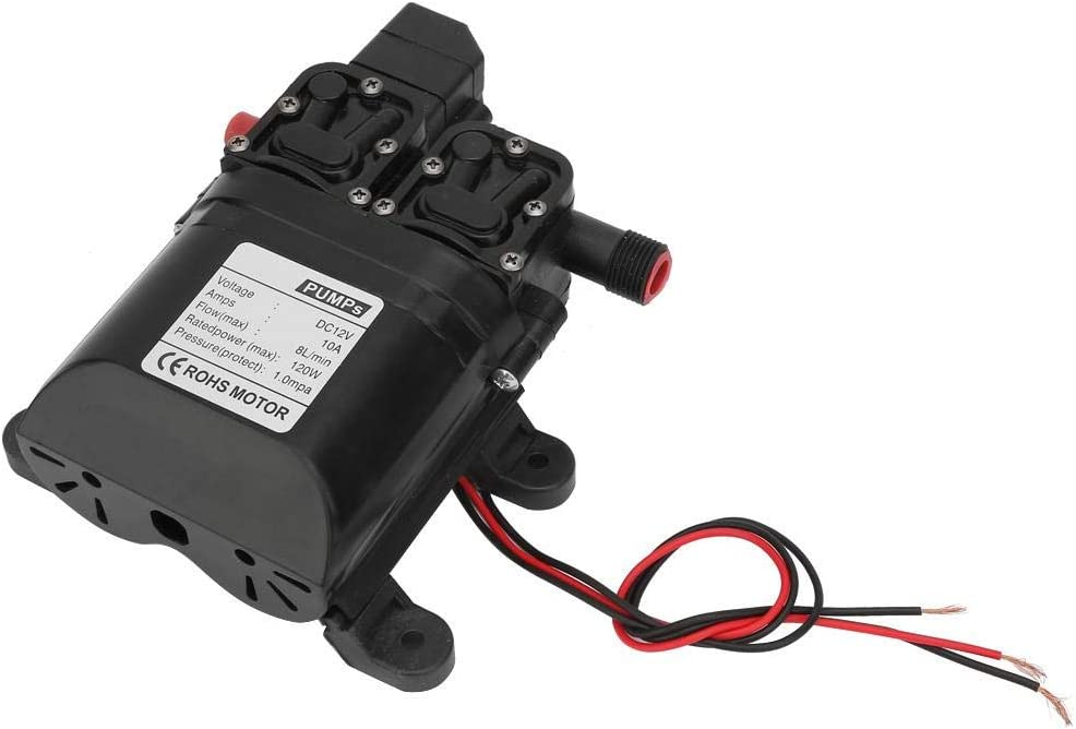 DC 12V Diaphragm Water Pump 120W All items in the store Pressure Self High Use In stock Priming