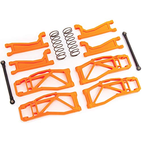 8995T - Suspension kit, WideMaxx, Orange (Includes Front & Rear Suspension arms, Front Toe Links, Rear Shock Springs)