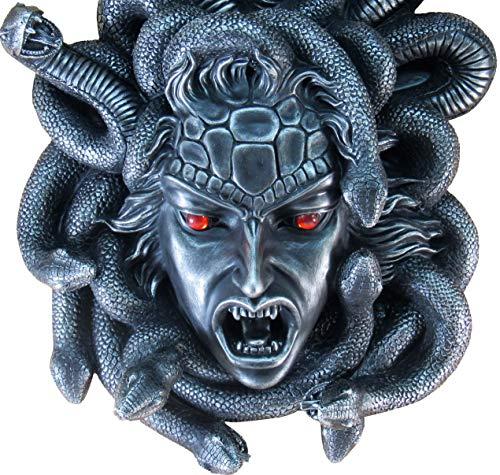 DWK-HD40776 Medusa - dekorative Figur - Sammlerstück Wanddekor - wandmontierte Fantasy-Skulptur