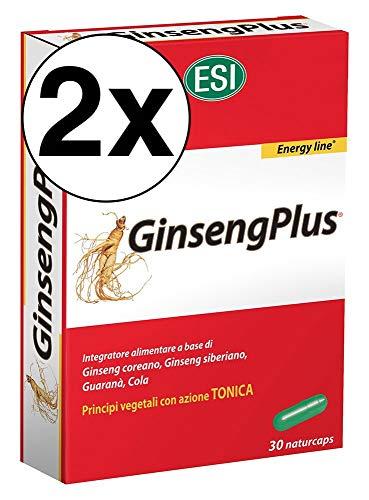 2 Confezioni Esi Ginsengplus - 30 Naturcaps