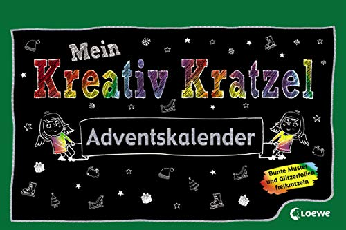 Mein Kreativ-Kratzel Adventskalender: ab 5 Jahre (Kreativ-Kratzelbuch)