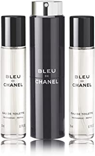 CHANEL シャネル ブルー ドゥ シャネル トラベル スプレイ EDT 20ml×3 メンズ 香水 [並行輸入品]