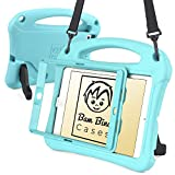 Bam Bino Cases SPACE SUIT 耐衝撃 ケース 【 iPad mini3 / mini2 / mini 】 子供 ショルダーストラップ 画面保護 スタンド 軽量 (ターコイズブルー)
