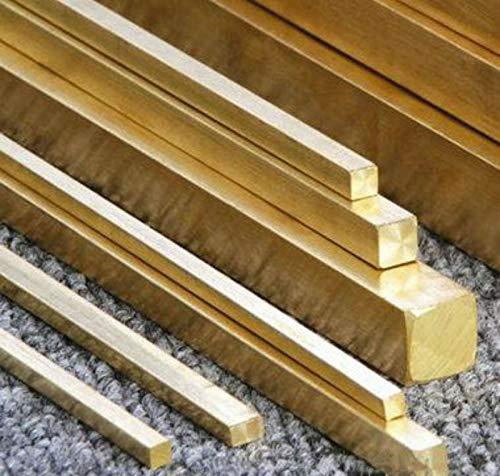 brass metal raw materials Raw Materials 1pcs Brass Metal Flat Bar 8mm x 20mm x 500mm #EE-Ai GY