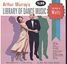 Arthur Murray: Library Of Dance Music The Best Of Waltz LP VG++/NM Canada
