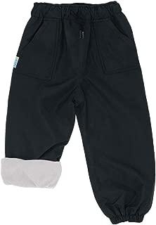 JAN & JUL Kids Water-Proof Fleece-Lined Rain Or Snow Pants