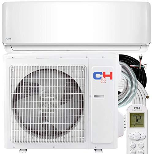 Cooper & Hunter 30,000 BTU Mini Split AC/Heating system Sophia Series, 18 SEER, 208/230V with 25ft Installation Kit