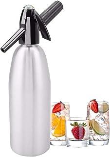 ポータブル1Lソーダメーカー冷たい飲み物炭酸バブル水機DIYカクテルソーダサイフォンメーカーバーツール