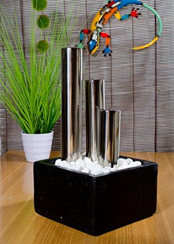 Köhko® Zierbrunnen Tango 25004 Dekobrunnen mit LED-Beleuchtung