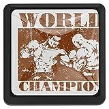 YATELI Campeón Mundial de Boxeo Perillas de extracción de para gabinetes, armarios, Puertas y cajones de Muebles: se Venden como un Paquete de 3 perillas