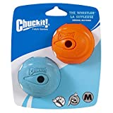 Chuckit! Dog Fetch Toy WHISTLER BALL Noisy Play Fits Launcher MEDIUM