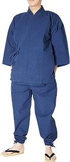 国産-徳島藍染め作務衣-伝統工芸 全4色