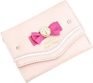 CORIRESHA Cute Sailor Moon Small Wallet Kawaii Tsukino Usagi Card Holder for Girls