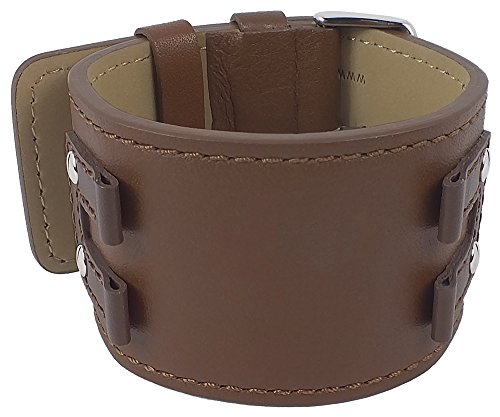 Bruno Banani Uhrenarmband Leder für XT Rectangular BR20922, Farbe:braun