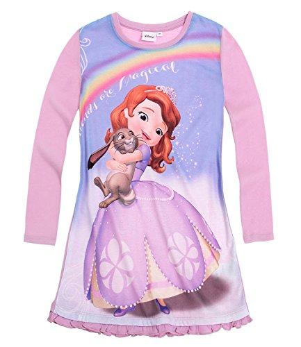 Disney Sofia die Erste Nachthemd langarm lila (92)