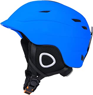 GIORO Multi Snow Sports Helmet,Unisex Adult Lightweight Outdoor Skiing Snowboard Helmet with Fleece Liner and Carrying Pouch for Men Women & Youth